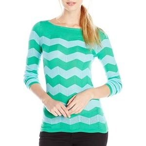 Lilly Pulitzer Ava Sweater - Chevron Knit Pullover